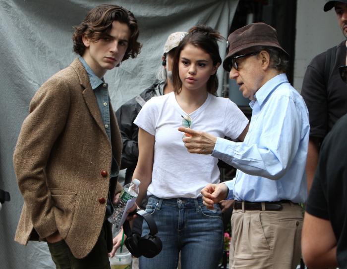 Timothee Chalamet Woody Allen on set.jpg