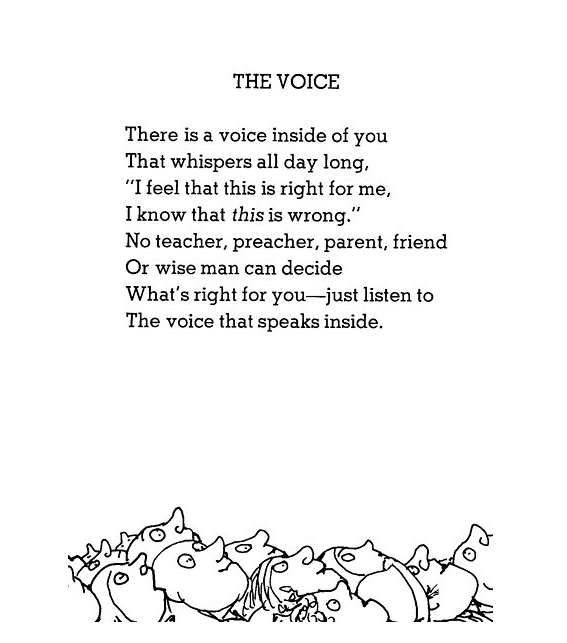 Theres A Light In The Attic Happy Birthday Shel Silverstein