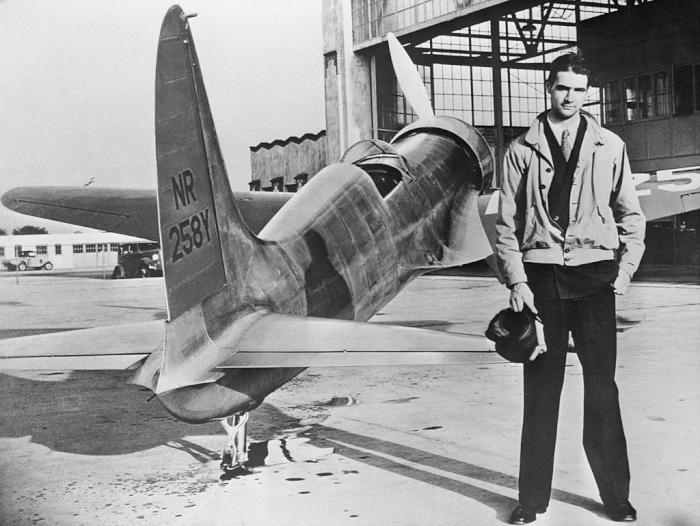 Howard Hughes Plane Getty Images
