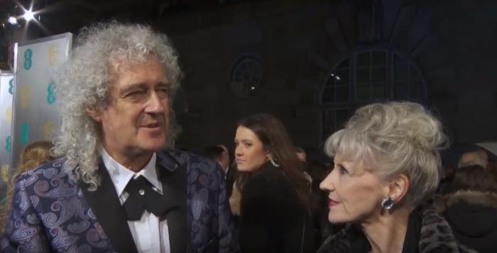 Brian May BAFTAs