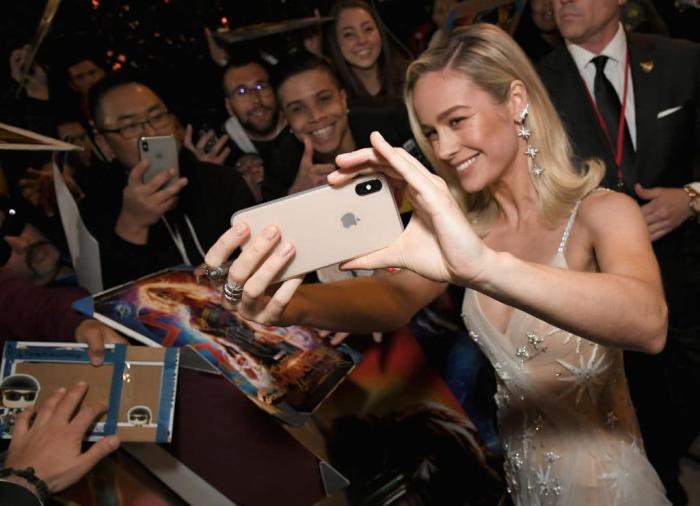 Brie Larson Captain Marvel Premiere Getty 1.jpg