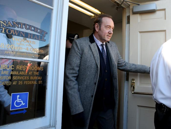 Kevin Spacey Nantucket Court Getty Images