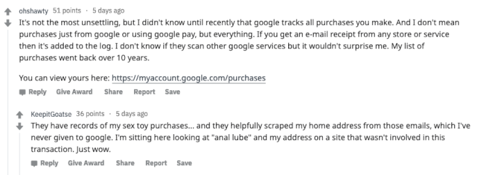 reddit-unsettling-personal-purchases.png