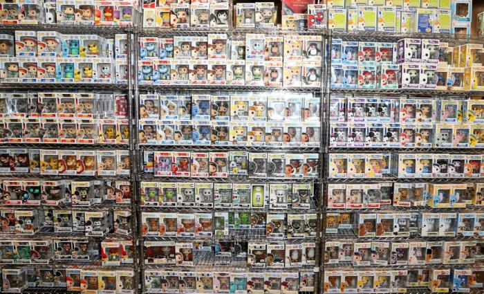 Funko Pops Getty