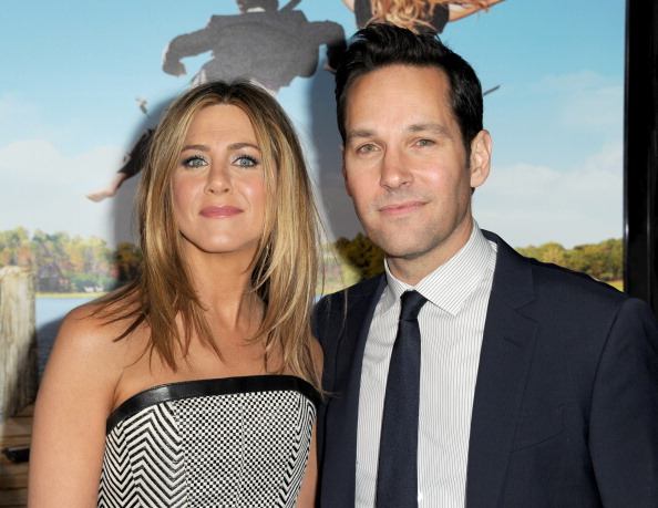 Paul Rudd Had a Couple of Awkward Moments with Jennifer Aniston on 'Friends'