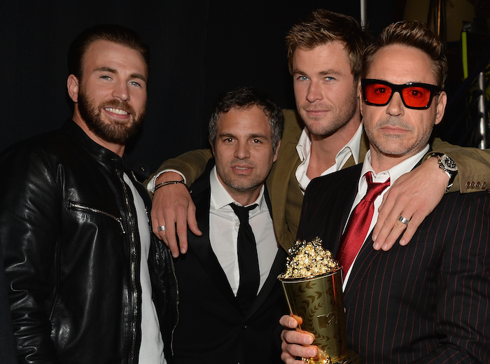 Chris Hemsworth Wants Chris Evans and Robert Downey Jr. for a 'Three Amigos' Remake