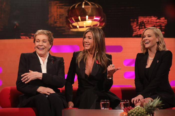 Jennifer Aniston Can't Remember Certain 'Friends' Facts, but Julie Andrews Remembers the Most Important One