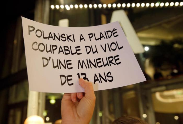 Roman Polanski protest Getty.jpg