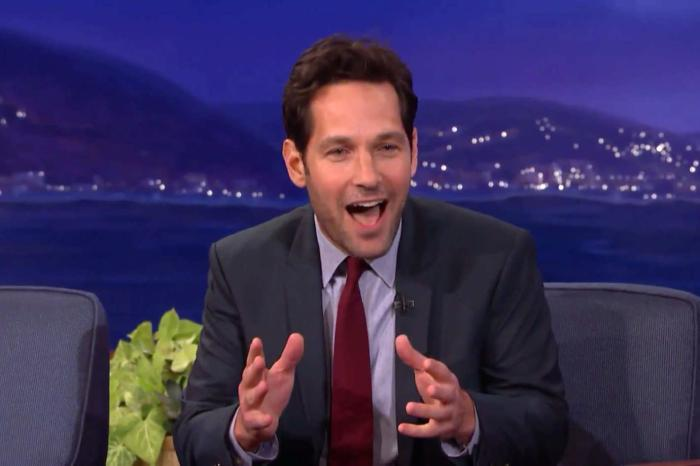 Paul Rudd and Conan O'Brien Address, For the First Time, the Long-Running 'Mac and Me' Gag