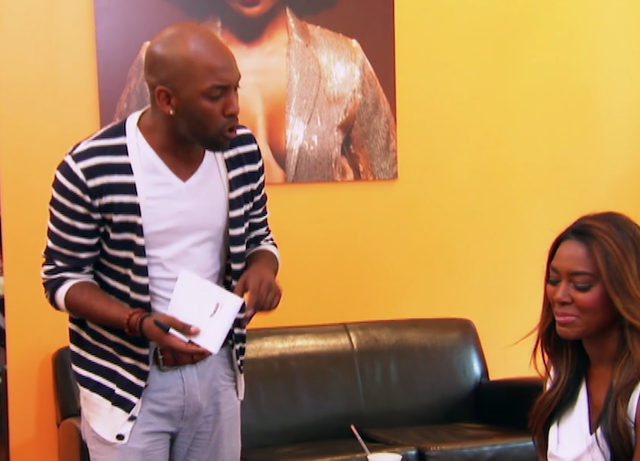 'Love is Blind' Contestant Carlton was Cynthia Bailey's Assistant, Beefed with Kenya Moore on 'RHOA'