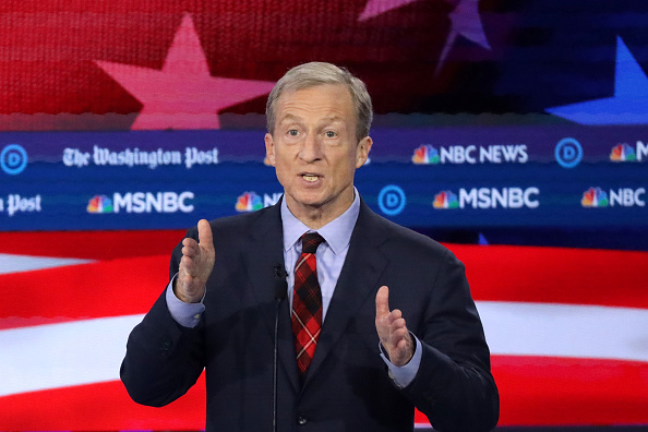Joe Biden's Only Chance to Recover and Consolidate Moderates Will Be Stymied by ... Tom Steyer