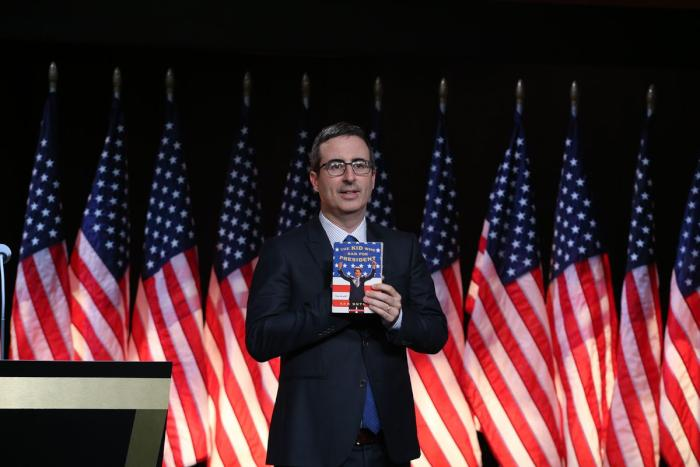 Find Something You Love As Much As John Oliver Loves America, Apparently