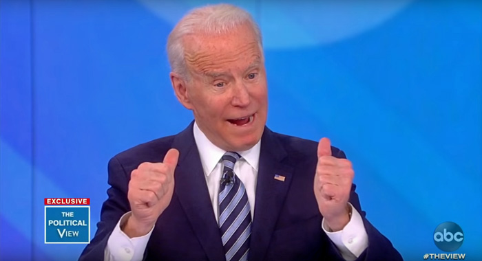 Joe Biden Stopped by 'The View' to Act Like Everything Is Fine, Couldn't Be Better!