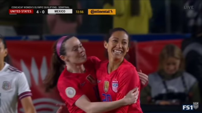 The USWNT Just Qualified For The 2020 Olympics