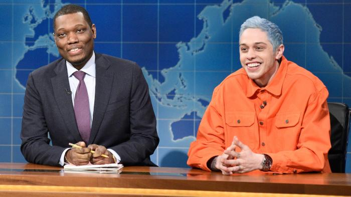 Turns Out, Pete Davidson Wasn't In on the Joke