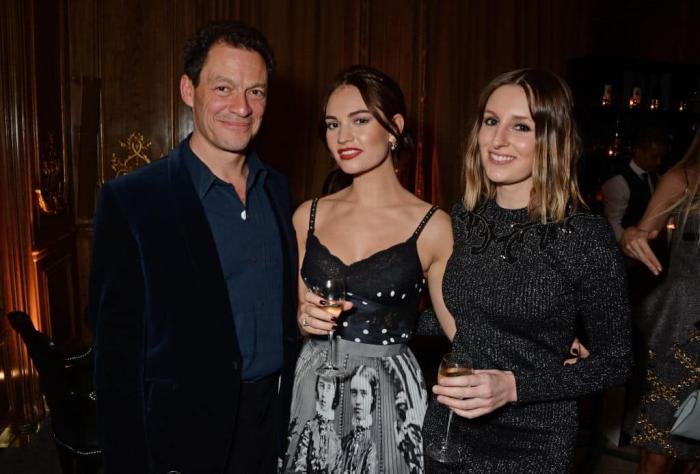 Lily James Dominic West Getty.jpg
