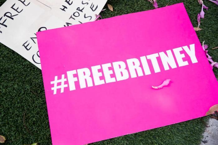 Free Britney protest Getty.jpg