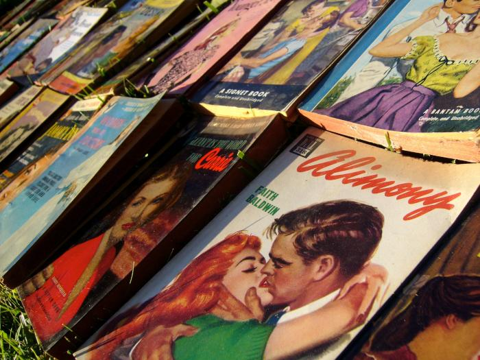 Vintage pulp romance covers Flickr