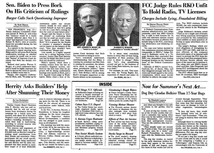 Cicadas, Washington Post, 1987.jpg