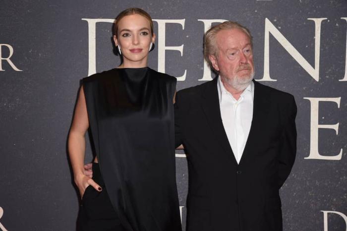 Ridley Scott Jodie Comer Getty.jpg
